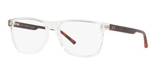 Armação oculos grau armani exchange ax3048 8235 54mm