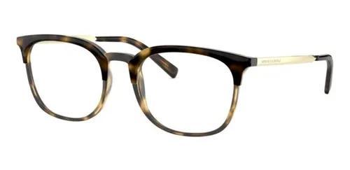 Armação oculos grau armani exchange ax3065 8037 52 marrom