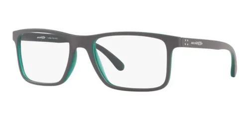 Armação oculos grau arnette an7142l 2651 56 cinza fosco
