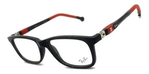Armação oculos grau infantil acetato original flexível