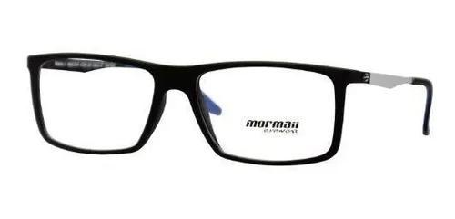 Armação oculos grau mormaii maha 1 m6054adh56 preto fosco