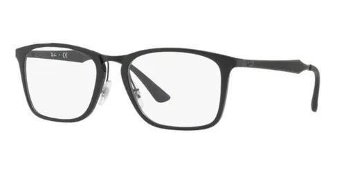 Armação oculos grau ray ban rb7131 2000 lente 55mm preto