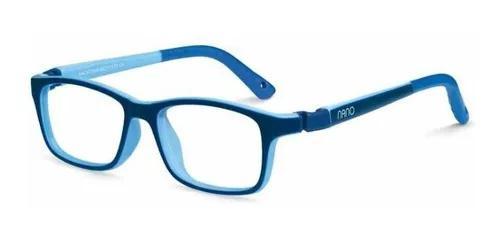 Armação oculos infantil nano vista crew nao571644 6 a 8