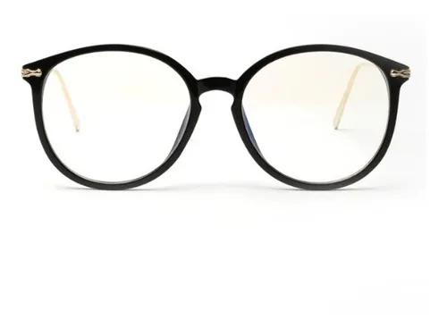 Armação redonda e grande para óculos de grau - várias
