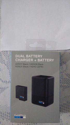 Bateria + carregador para go pro 7 e 8 Black NOVO