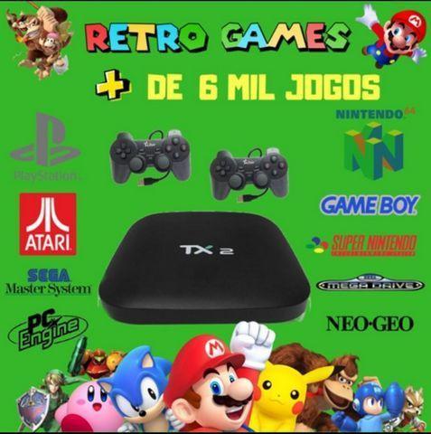 Box tv com games retro