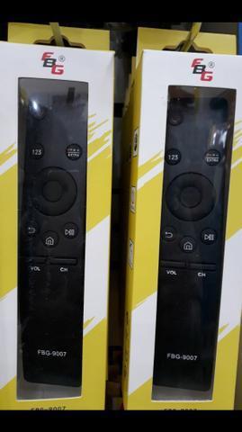 Controle p/tv smart samsung 4k, novos!