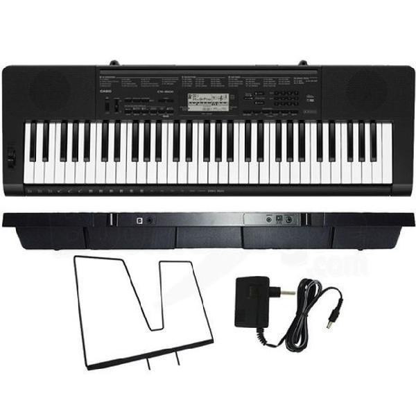Casio teclado ctk3500 produto novo loja fisica estamos