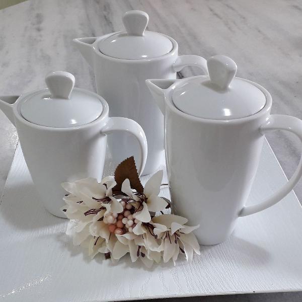 Conjunto chá porcelana germer