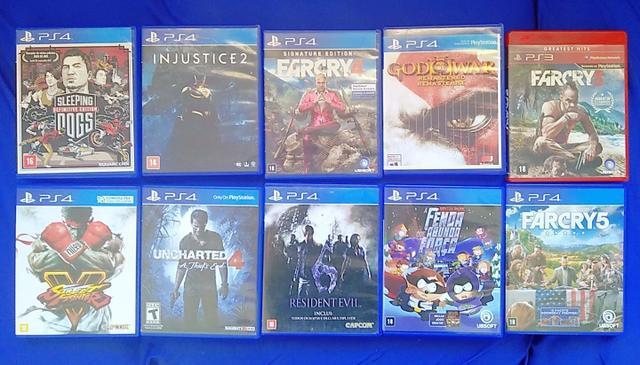 Games ps4 troca