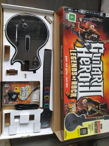 Guitar hero - guitarra + jogo
