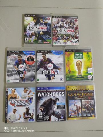 Jogos Originais Playstation 3 (Ac. Cartão)