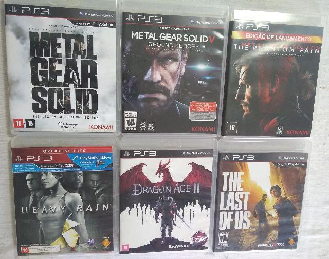 Jogos de PS3 - Mídia Física