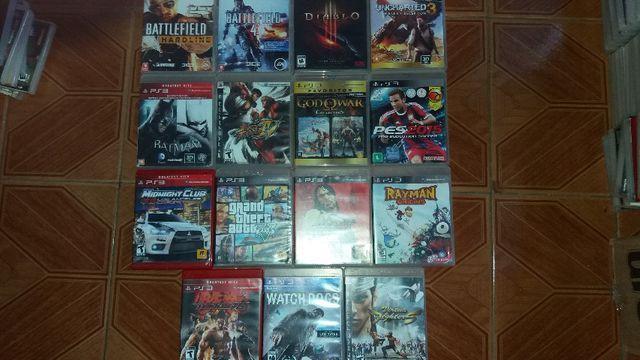 Jogos de playstation 3 (PS3) usados e originais