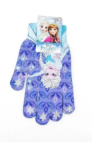 Kit frozen luva e touca de lã menina disney top frio