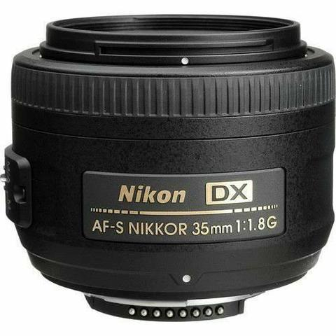 Lente nikon dx 35mm af-s