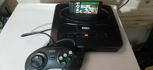 Mega drive 3 funcionando