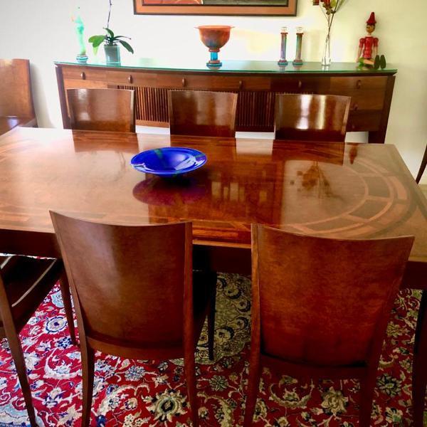 Mesa com cadeiras etel carmona