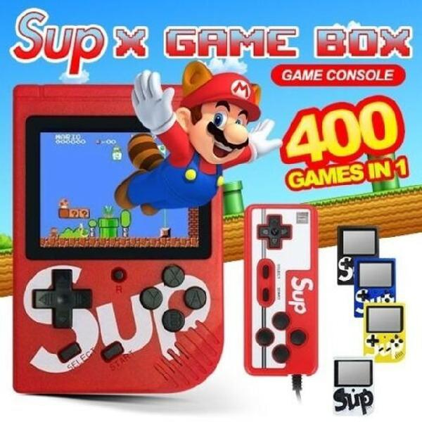 Mini game sup 2 controles retro nintendo game box nes