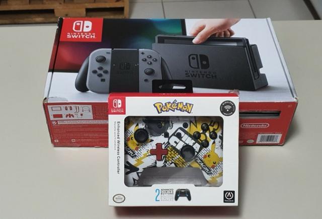 Nintendo switch desbloqueado + acessórios