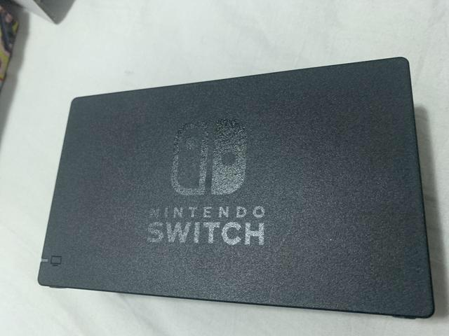 Nintendo switch e dois jogos