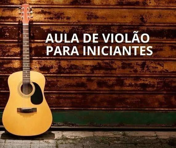 Promoção aula de violão online para iniciantes
