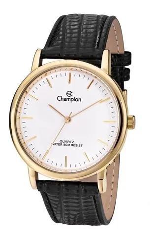 Relógio champion dourado masculino pulseira