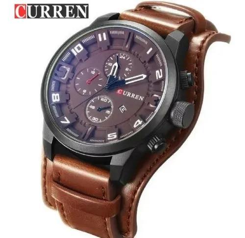 Relógio curren masculino esportivo estojo original