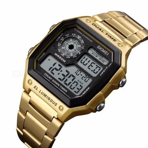 Relógio masculino skmei 1335 original a prova d'água