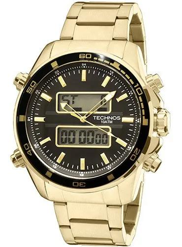 Relógio masculino technos analógico e digital 0527ae/4p