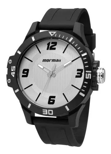 Relógio mormaii masculino wave mo2035fl/8b branco