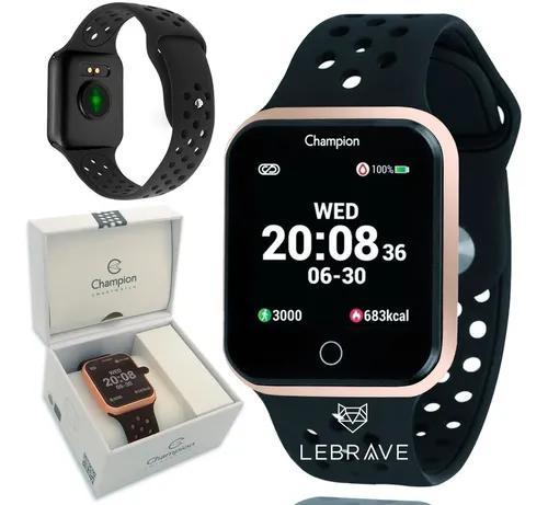 Relógio smartwatch digital champion original 1 ano garantia