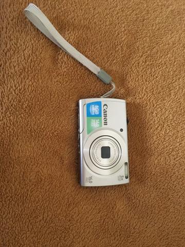 Vendo câmera/filmadora digital canon