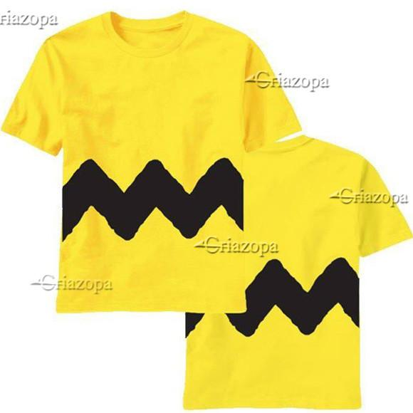 1 camiseta charlie brown infantil ou body