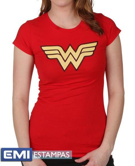 102- camisetas mulher maravilha