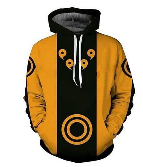 Blusa Moletom Masculina Naruto R/ 014