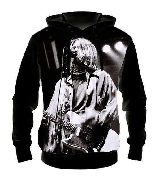 Blusa Moletom Nirvana Live - Casaco de Frio