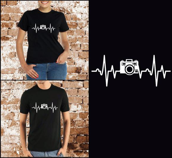 Camisa amor por fotografia