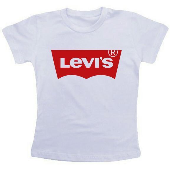 Camiseta baby look feminina - levis