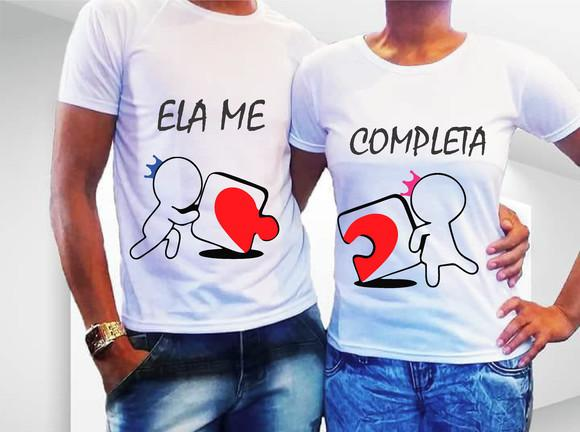Camiseta casal