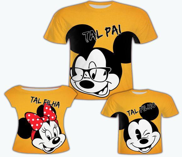 Camisa pai e filho + camisa filha - tal pai, tal filhos