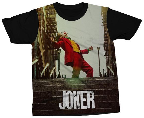 Camiseta coringa filme camisa joker personagem blusa vilão