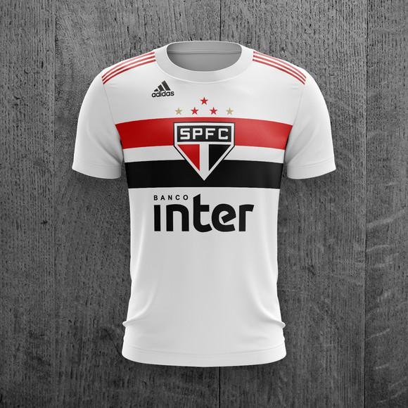Camiseta são paulo futebol feminina masculina personalizada
