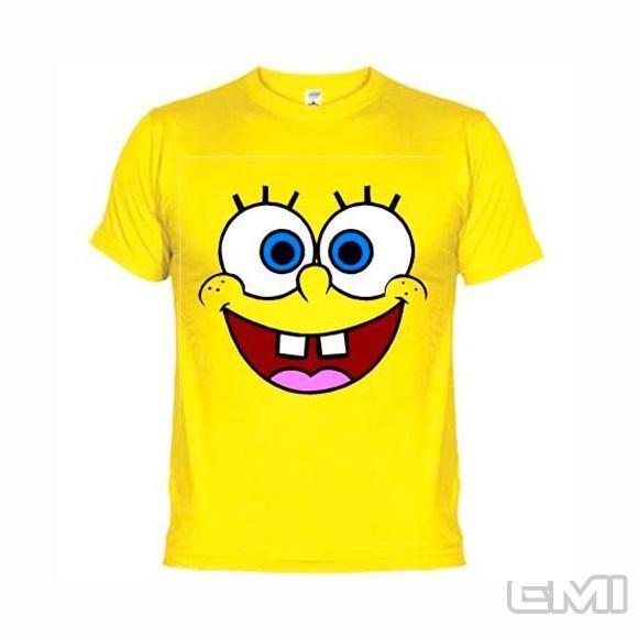 Camisetas engraçadas bob esponja