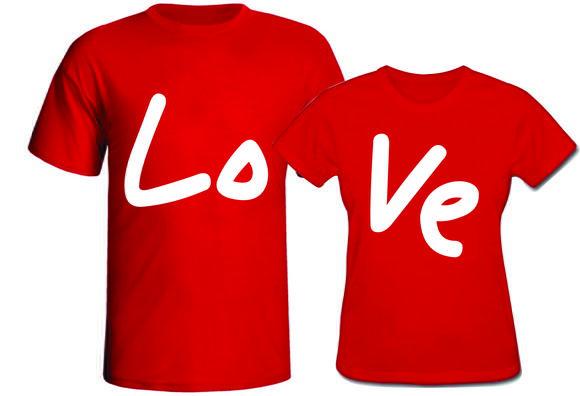 Camisetas namorados amor love casal