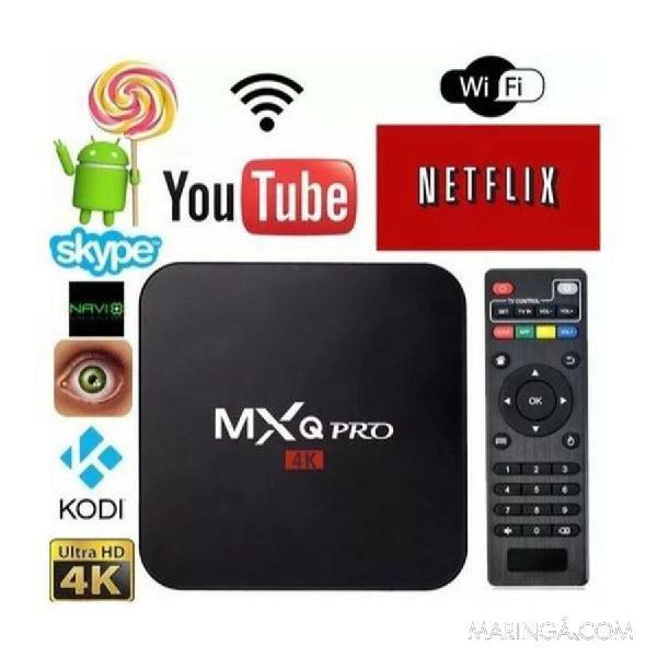 Tv box mxq pro em maringá