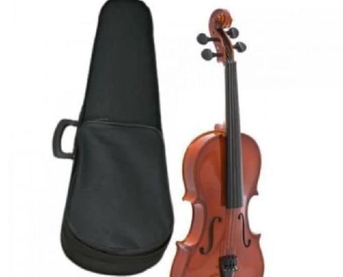 Violino giannini sv 44 com estojo e acessório