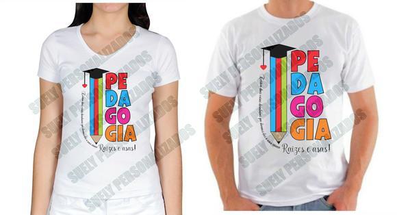 Camisa pedagogia personalizada