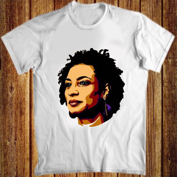 Camiseta marielle franco