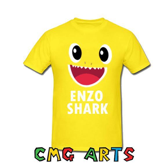 Camiseta baby shark festa aniversário